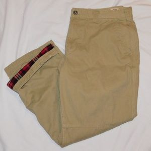 Flannel Lined Cargo Field Pants